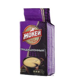 Кофе молотый Традиционный Жокей 100 г, 225 г
