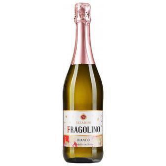 Вино гристе Фраголіно Бьянко біле, Россо червоне солодке Сізаріні 0,75 л