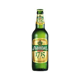 Пиво 1715 Львівське, 0.45л