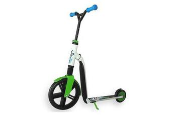 Самокат Scoot & Ride серії Highwaygangster 100кг (SR-216265-White-Green-Blue)