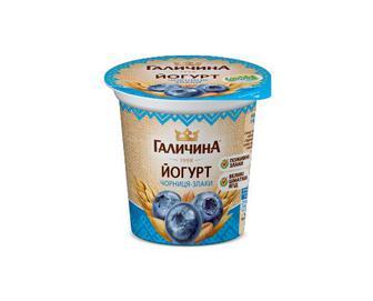Йогурт «Галичина» чорниця-злаки 2,5% жиру, 280 г