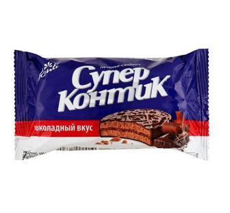 Печенье шоколадный вкус Супер -Контик 100 г