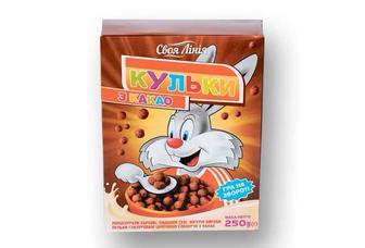 Фігурні вироби Кульки з какао, в цукровій глазурі   Своя Лінія  250 г