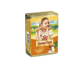 Сир плавлений, Звени Гора, 45% жиру, зі смаком грибів, 90 г