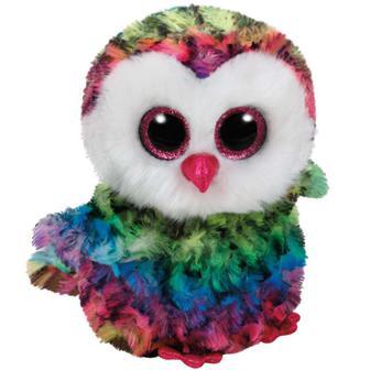 Мягкая игрушка Beanie Boo's Сова Owen TY (37221)