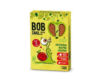Цукерки Bob Snail натуральні яблучні, 60г