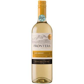 Скидка 35% ▷ Вино Frontera Late Harvest 0.75л