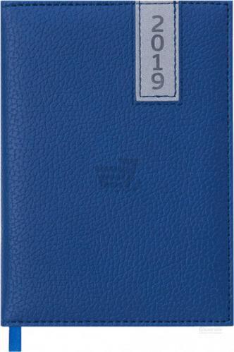 Щоденник 2019 VERTICAL A6 датований синій Buromax