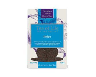 Чай байховий чорний Tea of Life Pekoe,  100 г