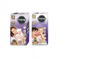 Подгузники детские, Premium, Poopeys