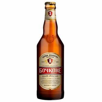 Пиво Бочкове нефільтроване Перша приватна броварня 0.5 л