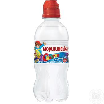 Минеральная вода Моршинская Спортик, негазированная, 0,33 л