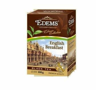 Чай чорний Англійський класичний Edems 100г