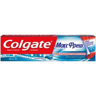 Зубна паста Colgate Макс Фреш взрывная мята 100мл