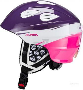 Гірськолижний шолом Alpina® Grap 2.0 A9086-56 р. 54-57 рожево-фіолетовий