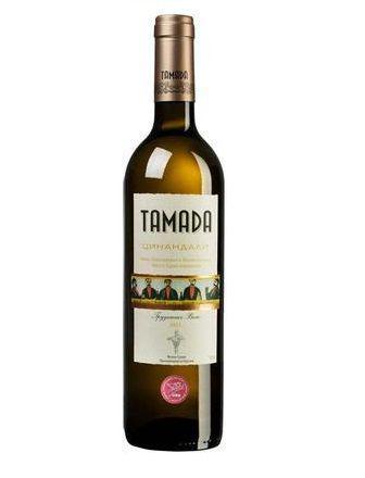 Вино Алазанская долина, Цинандали Тамада белое сух., красное п/с, 0,75 л