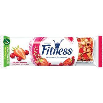 Батончик Nestle Fitnes полуниця іклюква 23,5г