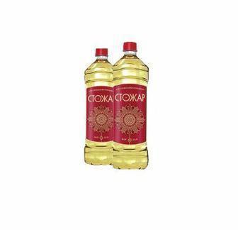 Олія соняшникова, рафінована, Стожар, 870мл