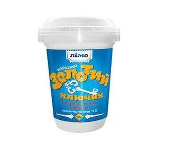 Мороженое Золотой ключик под карамельным соусом, Лімо 100г