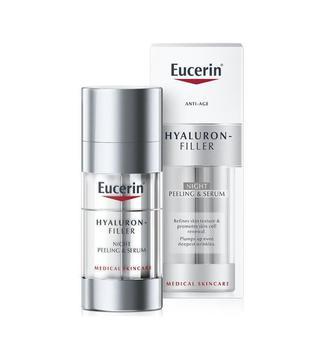 Сыворотка и пиллинг Eucerin Hyaluron-Filler ночная (15*2) 30 мл