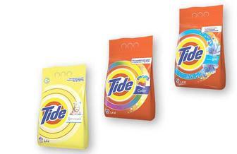 Засіб миючий синтетичний порошковий Touch of Lenor/Color/Дитячий, для всіх типів пральних машин, 2,4 кг Tіde