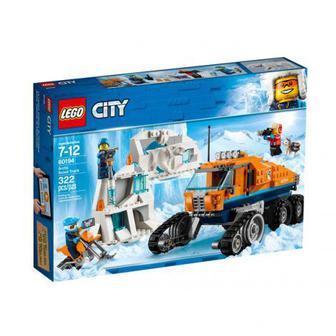 Скидка 25% ▷ Конструктор ЛЕГО Сити 60194 Арктика: розвідувальна вантажівка