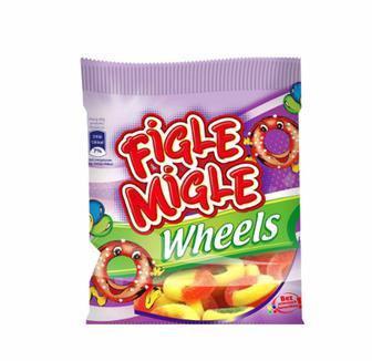 Жувальні цукерки Figle Migle 80г