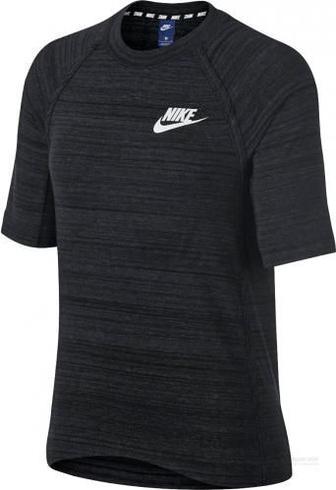Футболка Nike W NSW AV15 TOP SS KNT 885381-010 XS чорний