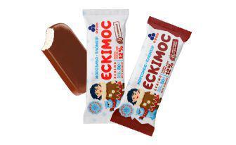 Скидка 37% ▷ Морозиво Ескімос, Ескімос шоколадний Рудь 80 г