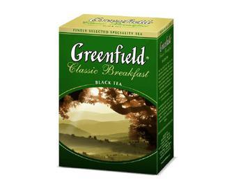 Чай Greenfield Classic Breakfast, 100г