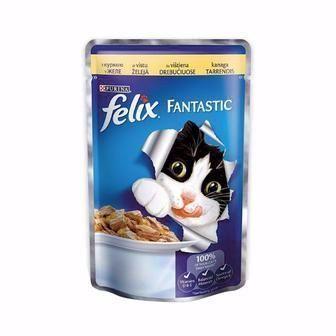 Консервований корм для котів FELIX 100г
