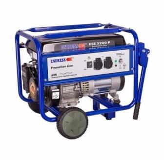 Бензиновий генератор ENDRESS потужність 2.5 кВт однофазовий об'єм бака 17 л