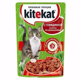Корм для котів Kite Kat 100г