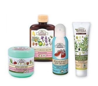 Засоби для догляду за тілом Зелена Аптека