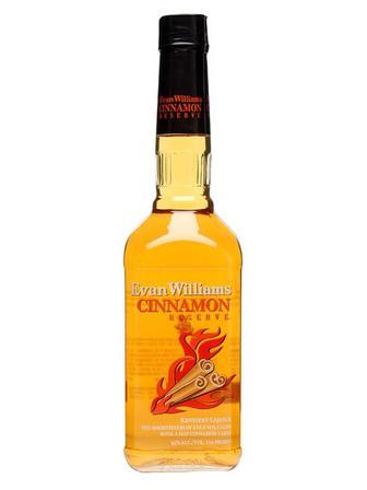 Скидка 20% ▷ Виски Evan Williams Fire Cinnamon 0.75л