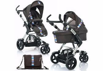Детская коляска универсальная 2 в 1 ABC design 3 TEC цвет Malibu