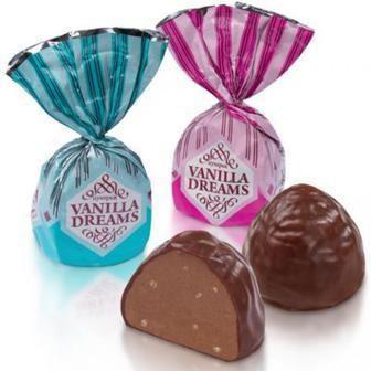 Цукерки Vanilla Dreams Бісквіт Шоколад 100г