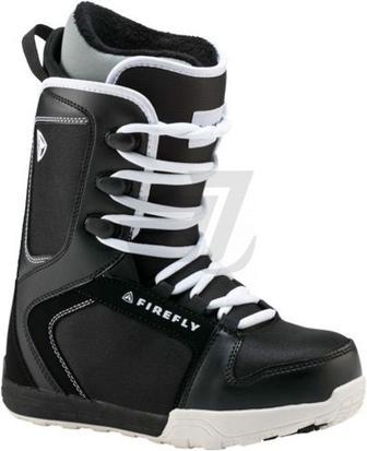 Черевики для сноуборда Firefly C30 JR р. 20 270422 чорний із білим