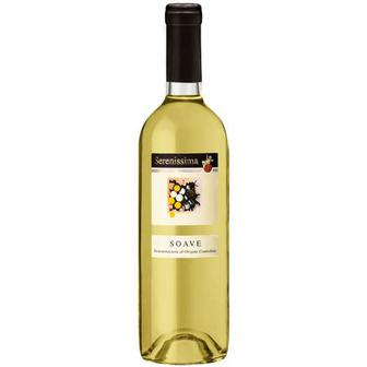 Скидка 38% ▷ Винo Serenissima Soave біле 0.75л