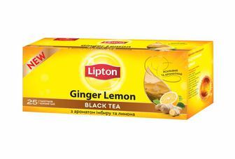 Чай чорний байховий Lipton 25 пак