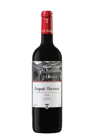 Вино Старий Тбілісі Алазанi GVS черв.н/сол 0,75л