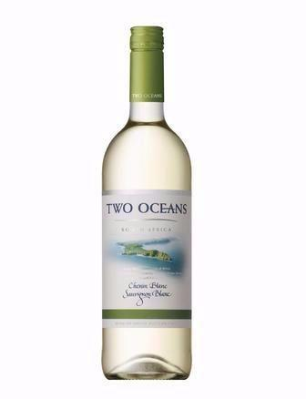 Вино Two Oceans Semillon-Chardonnay 0.75л