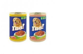Корм для собак кролик в соусе / курака в соусе,,Гав