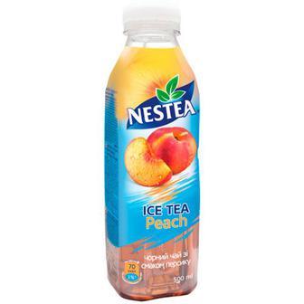 Напій Nestea Ice Tea чорний чай Персик 0,5л