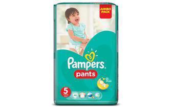Подгузники-трусики Pampers Pants Размер 5 (Junior), 11-18 кг 48шт