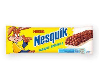 Батончик Nesquik з цільними злаками кальцій + вітамін D, 25г