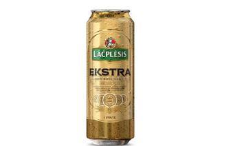 Пиво світле Lacplesis Ekstra,  0,568 л