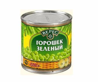 Зеленый горошек Верес ж/б 420г