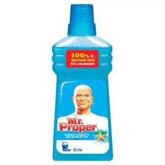 Жидкое моющее средство для уборки MR PROPER океан, 500мл