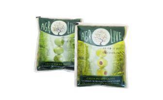 Оливки зелені з кісточкою, без кісточки Агролайф 170 г
